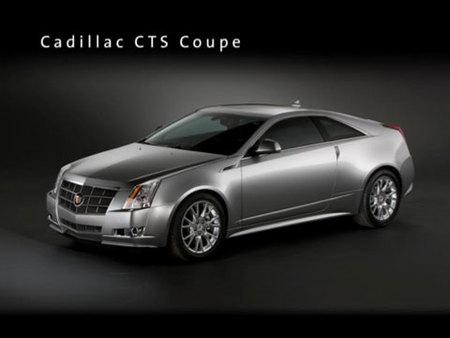 General Motors muestra el Cadillac CTS Coupe de produccion en su Plan de Viabilidad