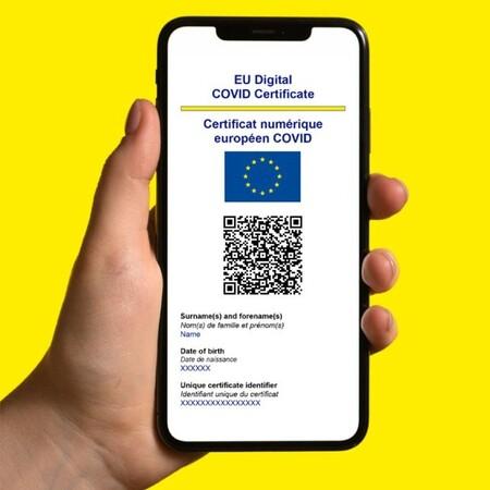 Certificado COVID Digital de la UE en el móvil