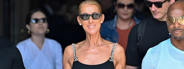 This is the latest styling by Céline Dion that pays homage to Karl Lagerfeld (and his career in Chanel)