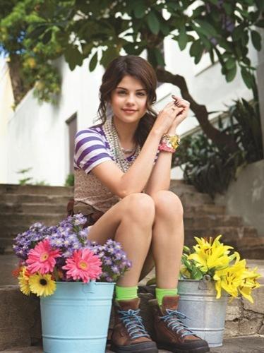 Las jóvenes vienen con fuerza: Selena Gómez en Teen Vogue
