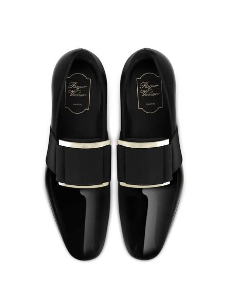 Roger Vivier Spring Summer 2019 Loafer Tuxedo In Black Haut Rvb Bd