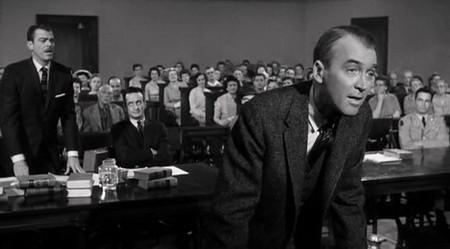 'Anatomía de un asesinato', James Stewart defendiendo a un asesino