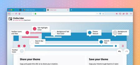 Crea tu propio tema y mira dos sitios web en una misma pestaña, los nuevos experimentos de Firefox que deberías probar