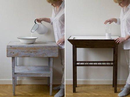 Höjea, un lavabo para ahorrar agua