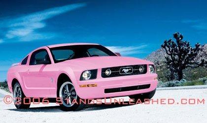 Playboy Pink Mustang, posible nuevo color para el 2008