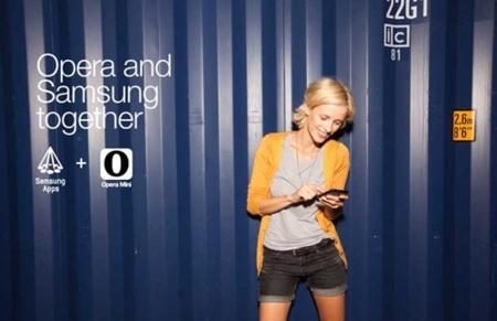 opera y samsung apps