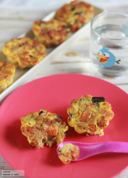 Muffins De Verduras Para Ninos Bebes Mas