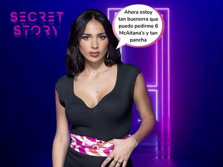 """Desvelamos cuál es el secreto de Sandra Pica en 'Secret Story': una pista confirma que """"en la infancia la llamaban bola de sebo con patas"""""""
