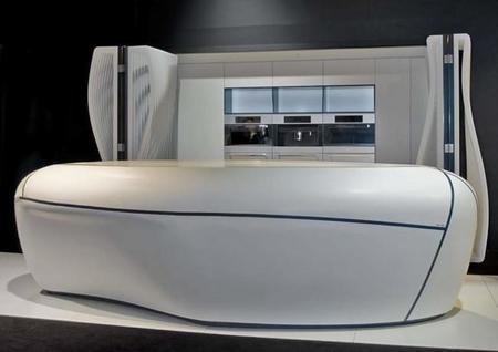Vengo del futuro a enseñaros la nueva cocina de HI-MACS® de LG Hausys: 'El cielo es el límite'