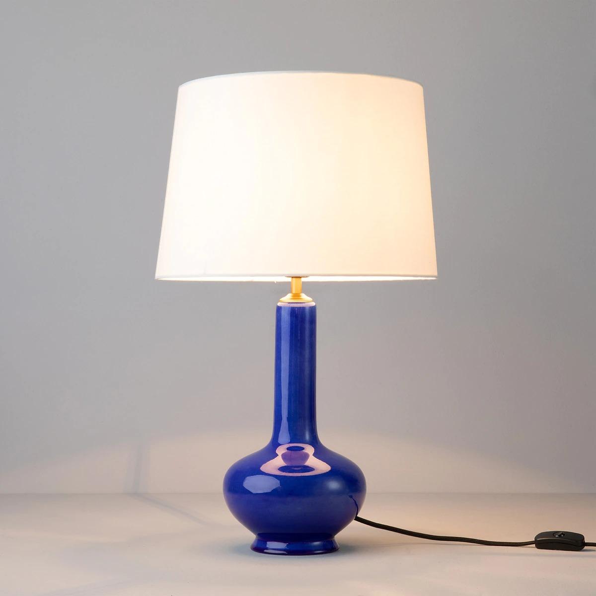 Lámpara de cerámica en El Corte Inglés