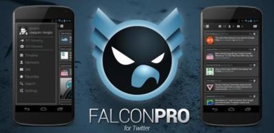Falcon Pro sigue actualizándose con una nueva fuente y cargando más twits