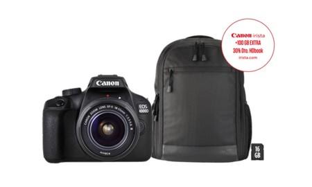 Iniciarse en fotografía reflex en el Día sin IVA de MediaMarkt sale barato con la Canon EOS 4000D por sólo 296,69 euros