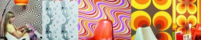 Papeles pintados de los 70