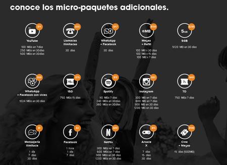 Weex Micropaquetes Omv Mexico