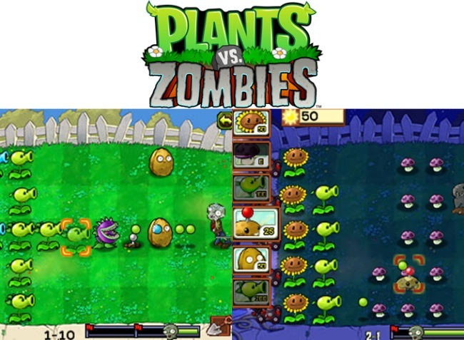 Plants vs. Zombies para Blackberry