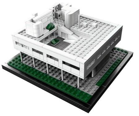 Lego Villa Savoye, una nueva arquitectura a piezas