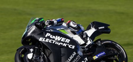 Eugene Laverty se fractura el brazo izquierdo durante los test de Jerez