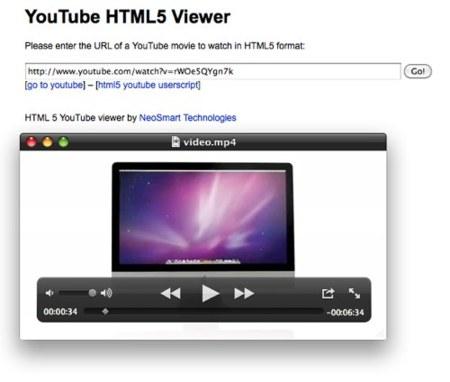 Reproduce y descarga vídeos de YouTube en mp4