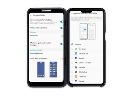Lg V50 Thinq 5g Smart Screen Opciones