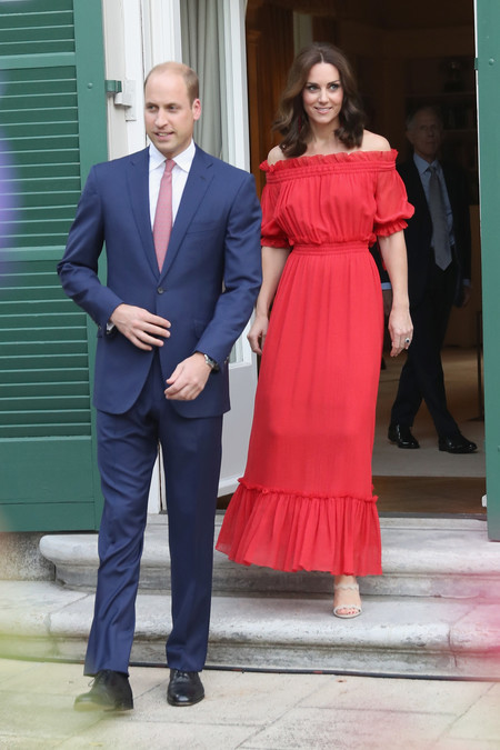 kate middleton look estilismo outfit rojo