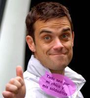 Robbie Williams deja de fumar por sus espermatozoides