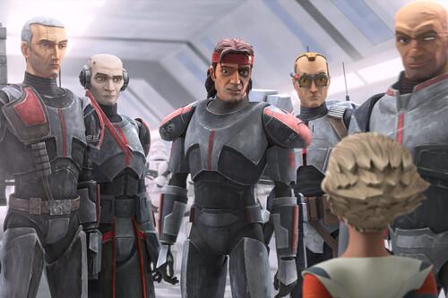 """""""La Remesa Mala no es solo una historia de acción. Star Wars nunca es solamente eso"""". Dee Bradley Baker (la voz de todos los clones en la nueva serie de Disney+)"""