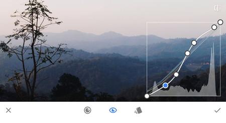 Snapseed 2.15 incluye herramientas de curvas, mejoras en la detección de caras y más