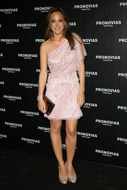 Foto de Invitadas al desfile de Pronovias 2013: ellas nos dan las pistas de cómo lucir en una fiesta fashion (13/14)