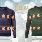 Ve preparando tus regalos navideños con un suéter de The Legend of Zelda