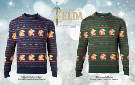 Ve preparando tus regalos navideños con un suéter de The Legend of Zelda