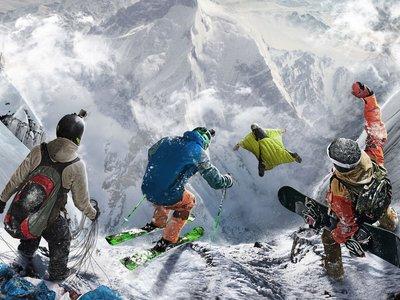 Los deportes extremos en la nieve de Steep dan comienzo con su tráiler de lanzamiento