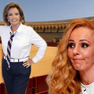 María Teresa Campos se pone flamenca y le echa un capote a la gran corneada, Rocío Carrasco