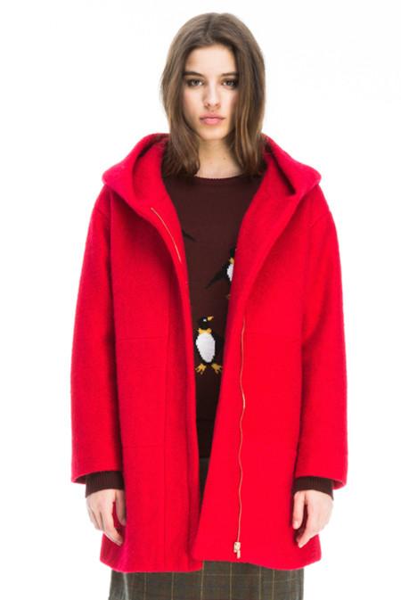 Abrigo Kling Rojo