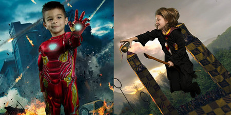 La bonita iniciativa fotográfica que convierte a los niños con autismo y necesidades especiales en superhéroes