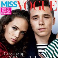 El legado de los Beckham está a salvo: así posa Brooklyn Beckham para la portada de Miss Vogue