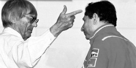 Jean Todt y Bernie Ecclestone se enzarzan en una lucha de ¿poder?