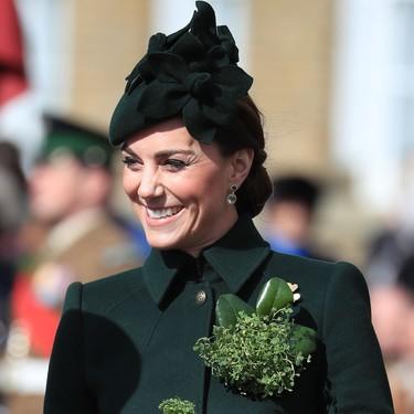 Kate Middleton, vestida de verde para celebrar el Día de San Patricio
