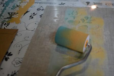 Pintar telas con chalk paint