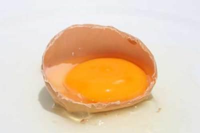 Yema o clara de huevo...