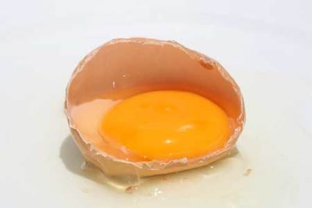 clara huevo para adelgazar