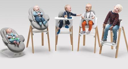 Steps: la nueva generación de tronas de Stokke