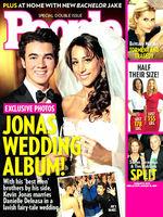 ¡Por fin! Fotos de la boda de Kevin Jonas y Danielle Deleasa en People
