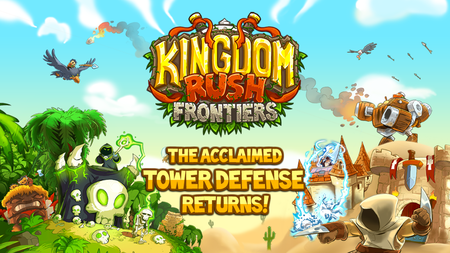 Ofertas en Google Play: Kingdom Rush Frontiers y las recetas saludables de Oh She Glows a 0,10 euros