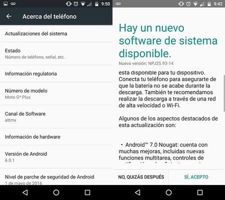 Moto G4 Plus Att Mexico Actualizacion Android Nougat