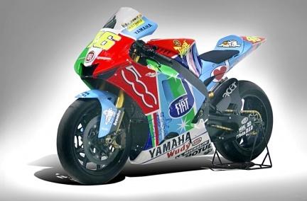 Yamaha M1 Valentino Rossi