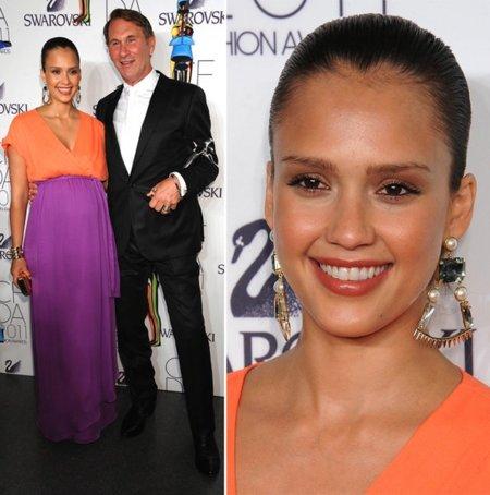 Jessica Alba premios CFDA 2011