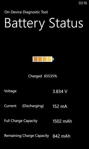 Cómo saber si tu Nokia Lumia 800 sufre problemas de batería