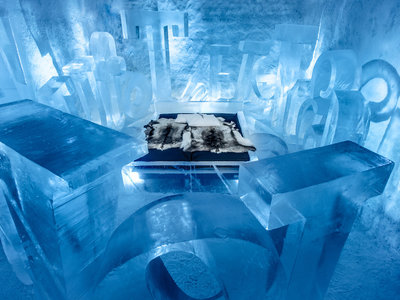 Abre en Suecia el primer hotel permanente de hielo