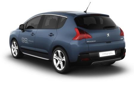 Peugeot RCZ HYbrid4 y 3008 HYbrid4