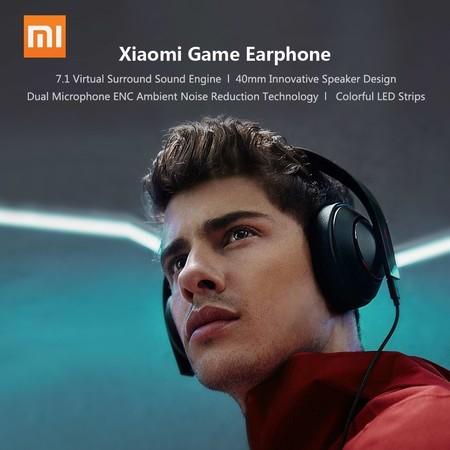 Auriculares gaming Xiaomi Mi Game Headset por 62,49 euros y envío gratis con este cupón